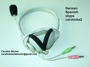 Learn and practice German or Spanish for beginners