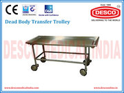 Mortuary Dead Body Transfer Table