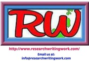 Academic Research Writing Services: Editing-Proofreading-Rewriting etc