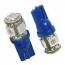 High Quality 501  Blue  3 Led Bulb - Ac Auto service