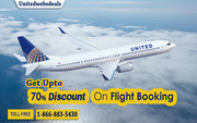 Get upto 70% Discount on Every Flight Tickets Booking.