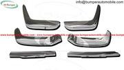 Volvo P1800 Jensen bumper kit new (1961–1963) stainless steel