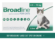 Broadline Spot On Solution Topical flea and tick treatment for cats