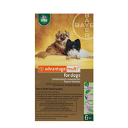 Advantage Multi for Dogs : Buy Advantage Multi Flea & Heartworm Treatm