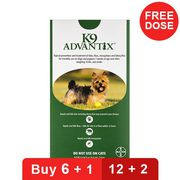 Buy K9 Advantix for Dogs Online at lowest Price in US at CanadaPetCare