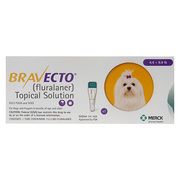 Bravecto topical for extra small dog for flea and tick