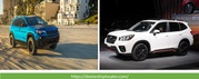 Compare the 2019 Jeep Cherokee to the 2019 Subaru Forester in the USA