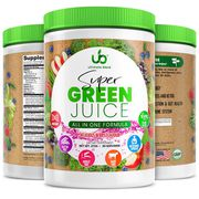 Natural green juice superfood powder