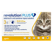 Revolution Plus for cats - Revolution plus 6-in-1 Treatment for cats