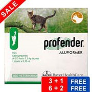 Free Doses Inside ! Buy Profender For Cats Now