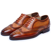 Get Handmade Stylish Oxford Dress Shoes for Men from Lethato.
